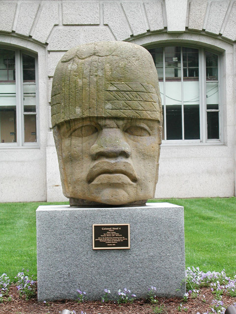Colossal Head 4 (In front of the Smithsonian)