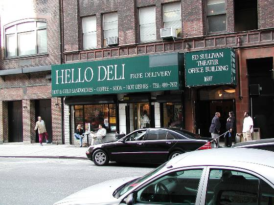 The infamous Hello Deli (Late Show)