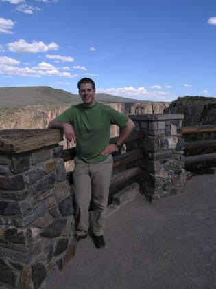 Brian at Black Canyon of the Gunnison Nat'l Park