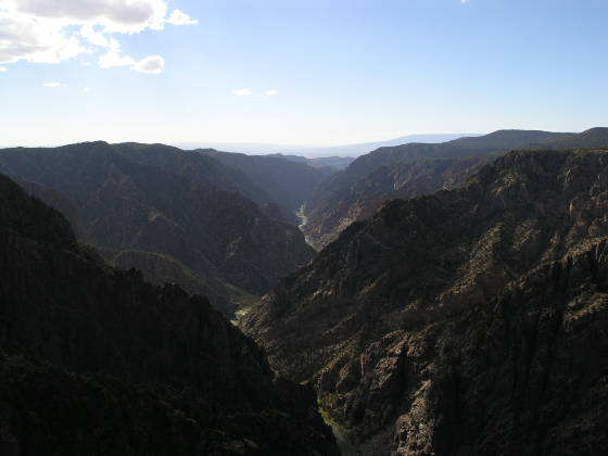 Sunset Point at Black Canyon of the Gunnison