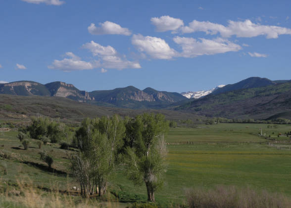Countryside between Montrose and Gunnison