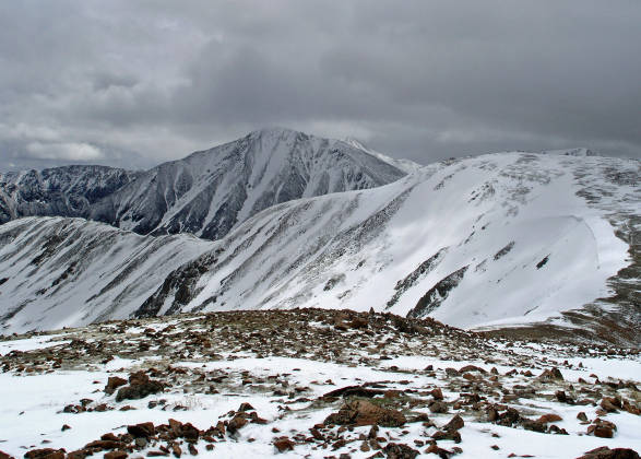 Torreys and Grays Peak in the distance