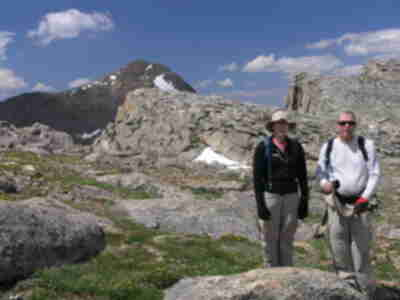 Lisa and Tom, Bierstadt on the left