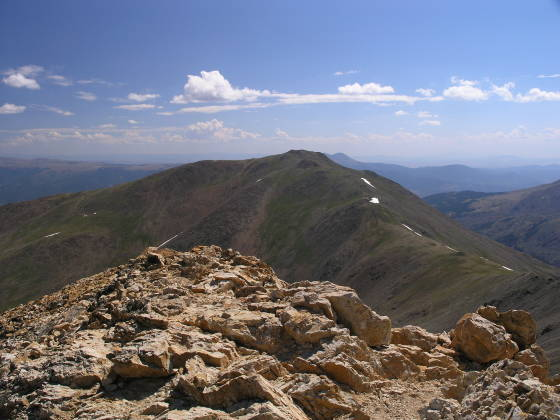 Mt. Oxford, from the Belford summit (looking east)
