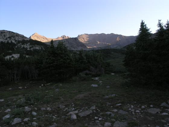 Sunrise on Mt. Harvard