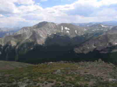 Mt. Yale, across the Horn-Fork Basin