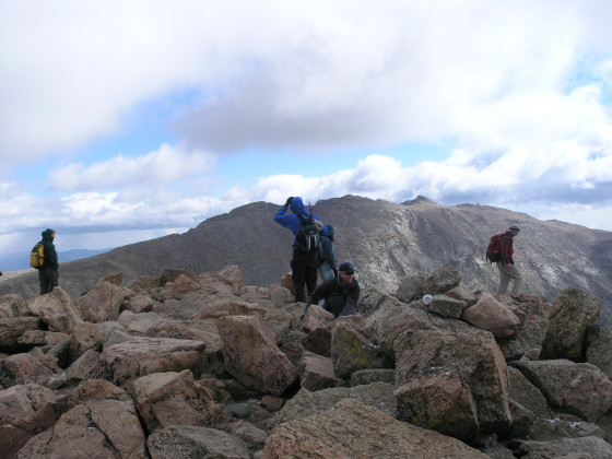 Mt. Bierstadt summit