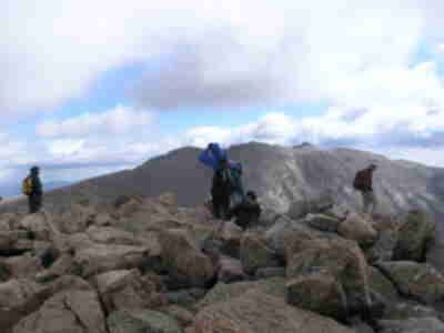 Reaching the summit, for the third time