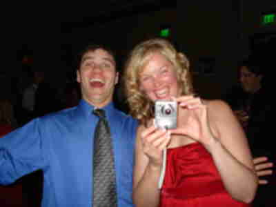 Andy and Laura (taking a photo of Brian and Lisa)