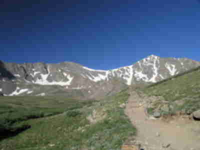 Grays (left) and Torreys (right)