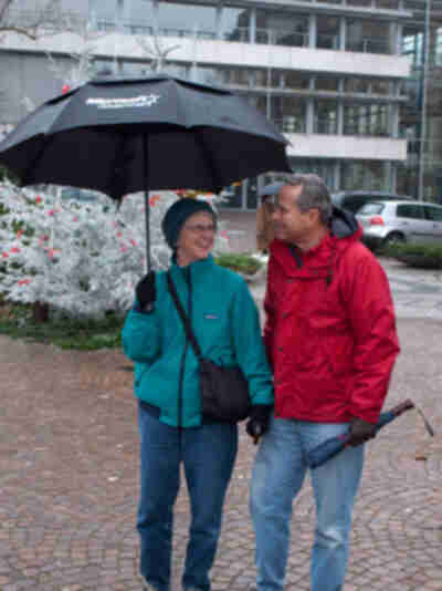 My parents in Baden-Baden