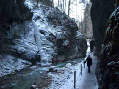 The Partnach Gorge (Partnachklamm)