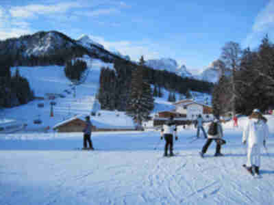Skiing at Garmisch-Classic