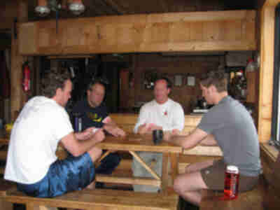 A little hut euchre