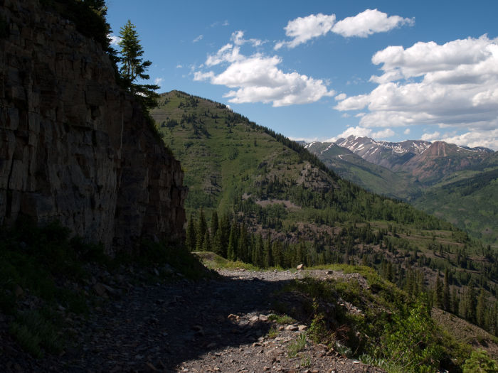 Gunsight Pass Road