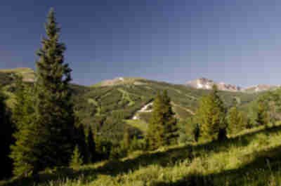 The slopes of Copper Mountain